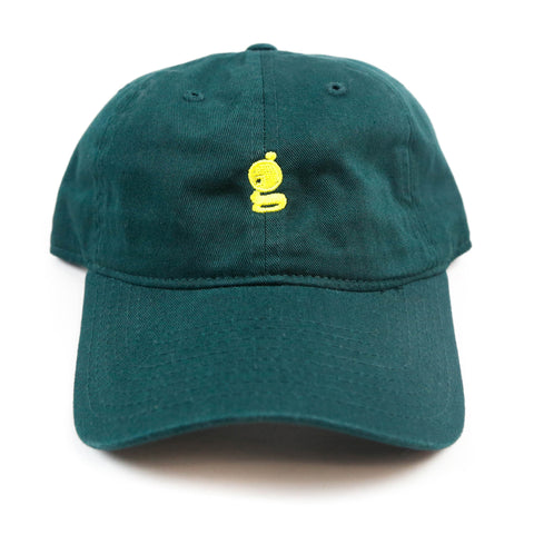Grandeur 'g' Logo Green Polo Hat