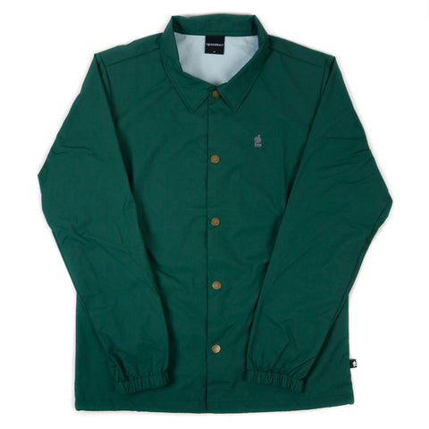 Grandeur Green Coaches Jacket