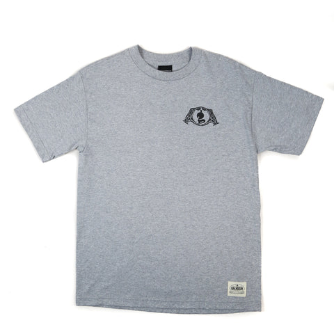 Grandeur O'side or No Side Light Gray T-Shirt