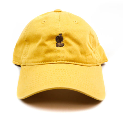 Grandeur 'g' Logo Yellow Polo Hat