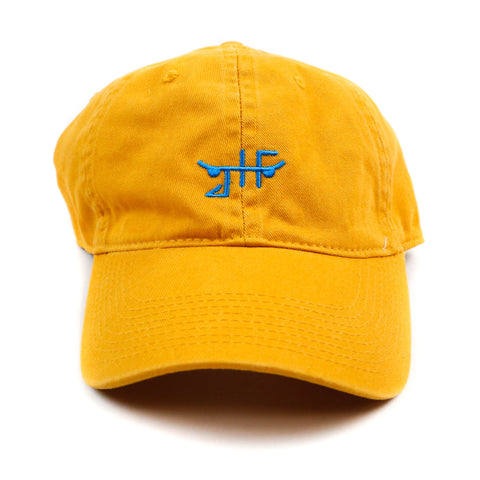 Just Have Fun Yellow Classic Polo Hat