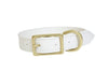 Dog Collar I Pearl White