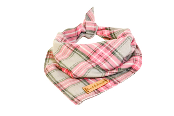Bandana I Pink Plaid