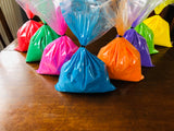 8 Colours of Holi Colour Run Throwing Paint Powder in 1 kg Bags