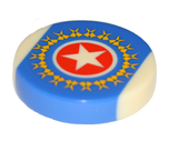Single Carrom Striker - Weighted, smooth, professional quality 15g Championship Polo Striker
