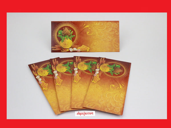 10 indian wedding money gift envelopes - Diwali gift envelopes - 10 envelopes in packet