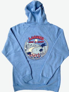 DOWNTOWN  Adult Unisex Pullover Fleece Hoodie  (More Colors Available)  - Laguna Surf & Sport
