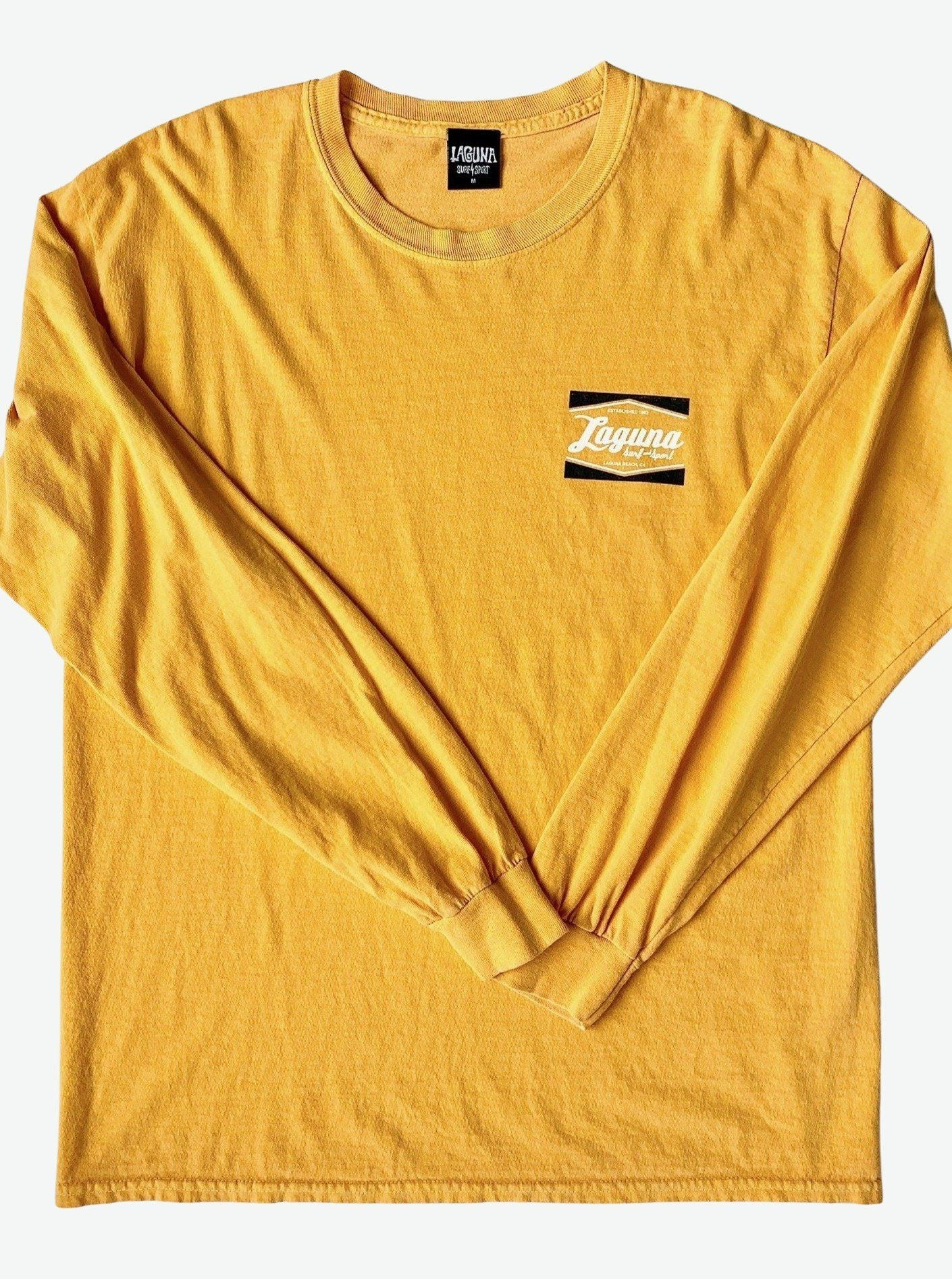 LS&S CLASSIC BOX  Mens Pigment Long Sleeve Tee  (More Colors Available)  - Laguna Surf & Sport
