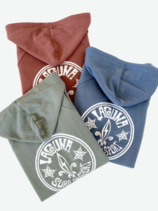 CIRCLE ROOTS  Womens Lightweight Soft Wash Fleece Hoodie  (More Colors Available)  - Laguna Surf & Sport