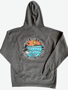 BROOKS STREET  Adult Unisex Pullover Fleece Hoodie  (More Colors Available)  - Laguna Surf & Sport