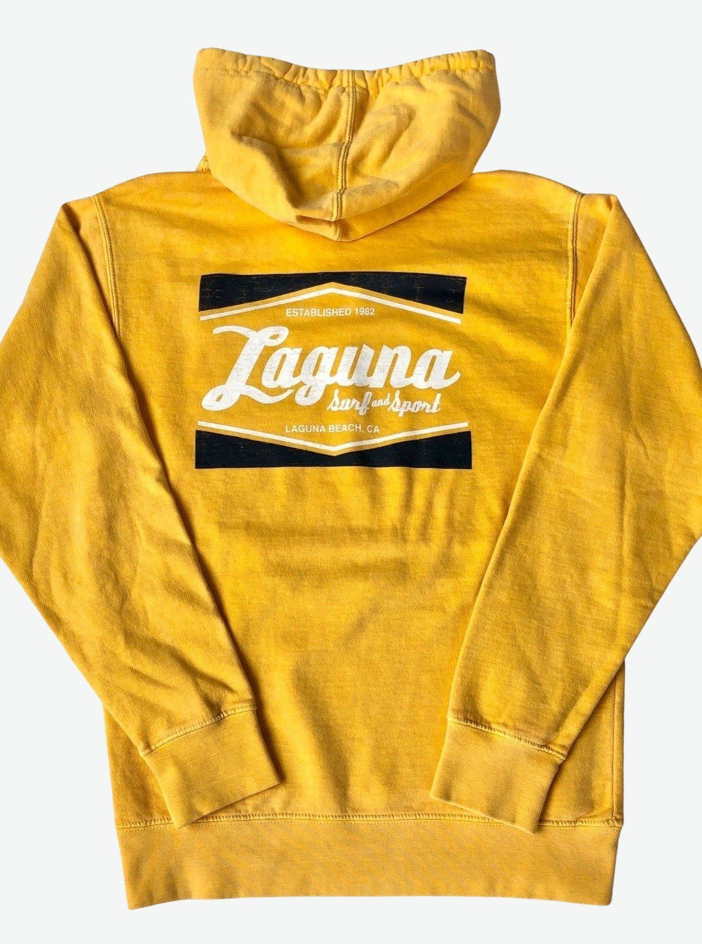 LS&S CLASSIC BOX  Adult Unisex Bomber Hoodie  (More Colors Available)  - Laguna Surf & Sport