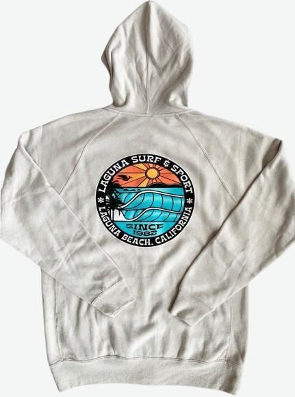 BROOKS STREET  Adult Unisex Fleece Zip Hoodie - Laguna Surf & Sport