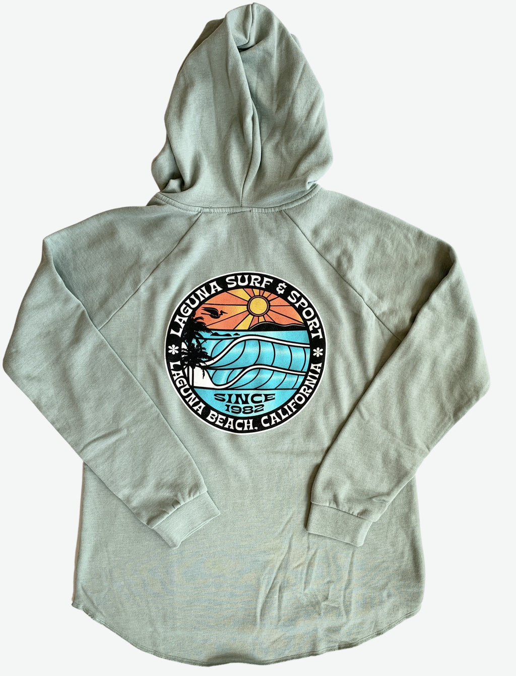 BROOKS STREET  Womens Vintage Wash Hoodie  (More Colors Available)  - Laguna Surf & Sport