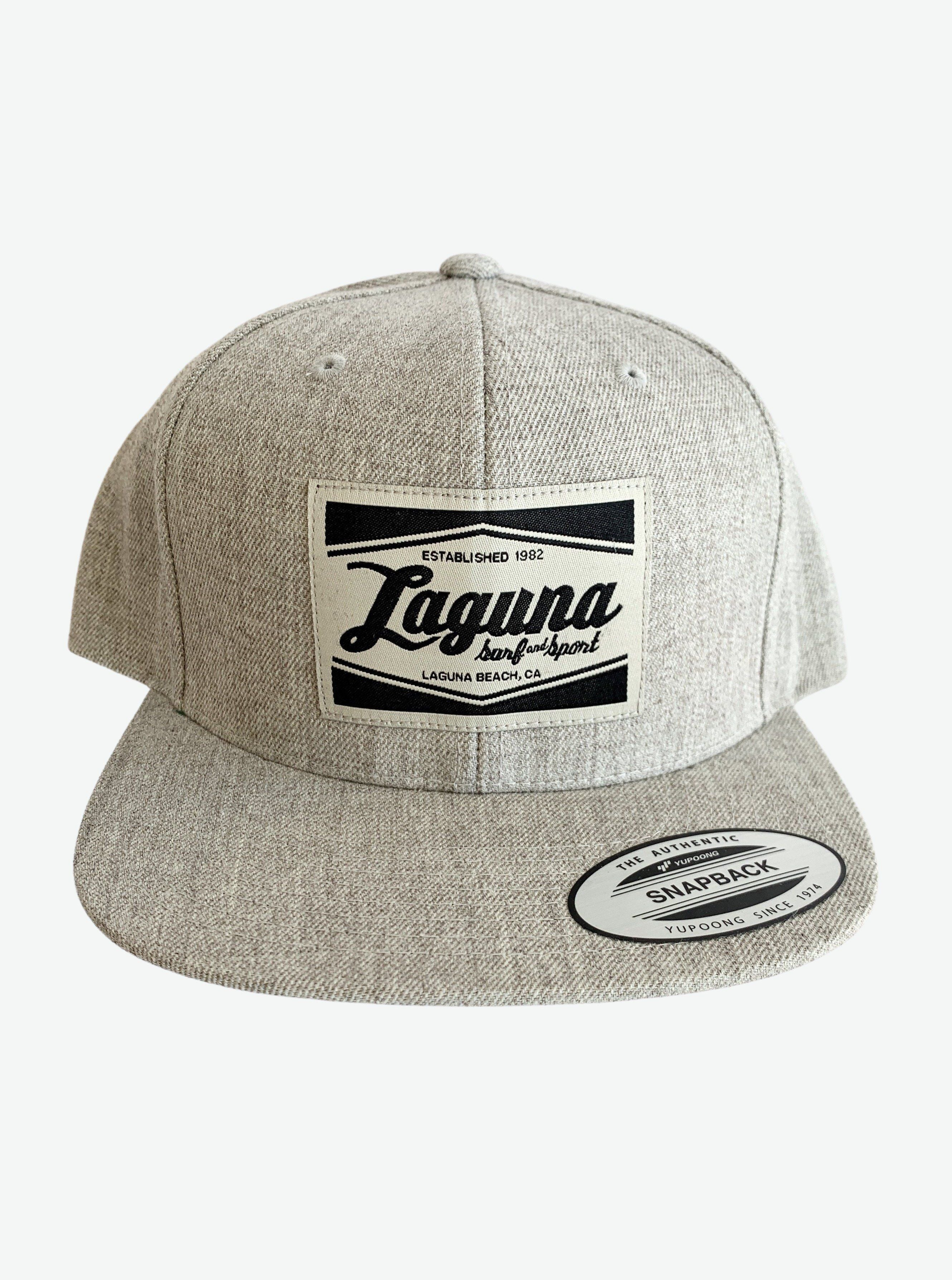 LS&S CLASSIC BOX  Patch Snapback Hat  (More Colors Available)  - Laguna Surf & Sport
