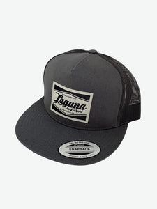 LSS CLASSIC BOX <br> Twill/Mesh Patch Flex Trucker Hat
