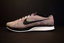 Nike Flyknit Racer Multicolor Racer Grey Tongue