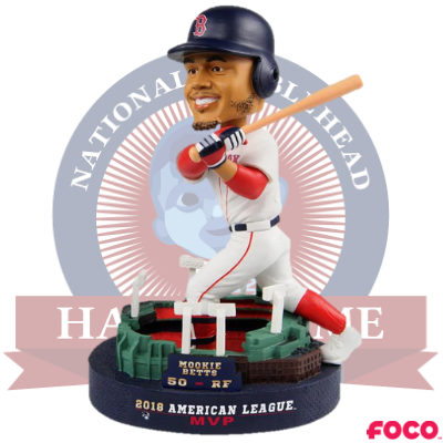 Mookie Betts Boston Red Sox 2018 AL MVP Bobblehead
