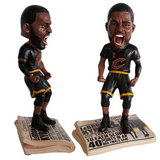 Cleveland Cavaliers 2016 NBA Champions Newspaper Bobbleheads