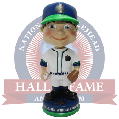 College World Series Classic Bobble Boy Bobblehead - National Bobblehead HOF Store