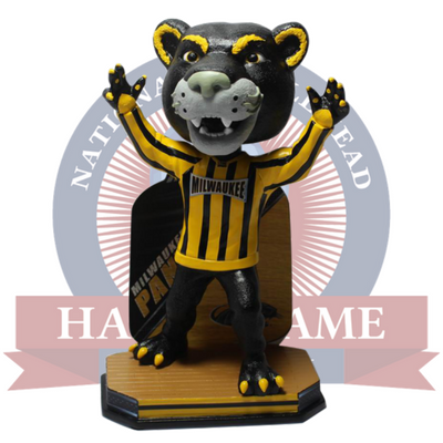 Milwaukee Panthers Pounce Mascot Bobblehead - National Bobblehead HOF Store