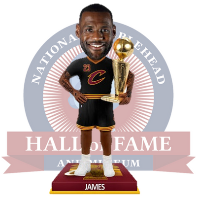 LeBron James 2016 NBA Champions 3 Foot Bobblehead - National Bobblehead HOF Store