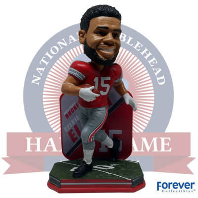 Ezekiel Elliott Ohio State Buckeyes NCAA College Football Bobblehead - National Bobblehead HOF Store