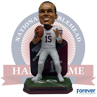 Dak Prescott Mississippi State Bulldogs NCAA College Football Bobblehead (Presale)