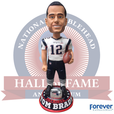 New England Patriots Super Bowl LI 51 3 Foot Bobblehead - National Bobblehead HOF Store