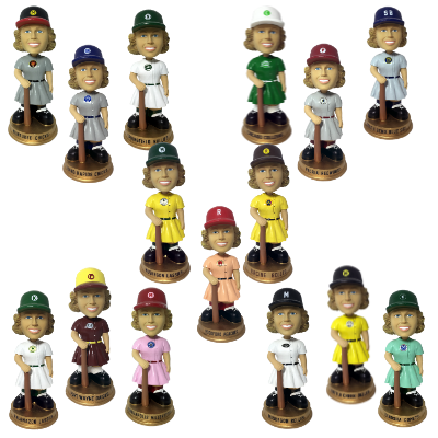 Peoria Redwings AAGPBL Girls Baseball Bobblehead Numbered to Only 500 Bobblehead
