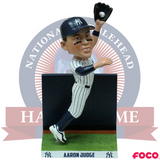 Aaron Judge New York Yankees Wall Catch Bobblehead - National Bobblehead HOF Store