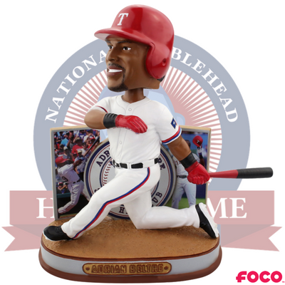Adrian Beltre Texas Rangers 3,000th Hit Bobblehead - National Bobblehead HOF Store