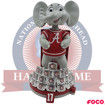Alabama Crimson Tide 17-Time National Champions Bobblehead