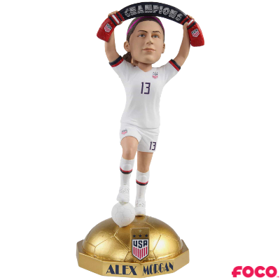 U.S. Women's Soccer National Team 2019 World Cup Champions Bobbleheads