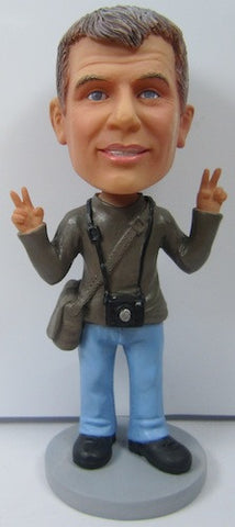 Male Photographer Bobblehead - National Bobblehead HOF Store