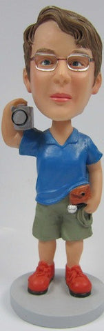 Male Videographer Bobblehead