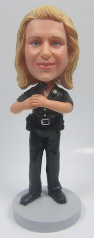Police Officer Bobblehead #1 - National Bobblehead HOF Store