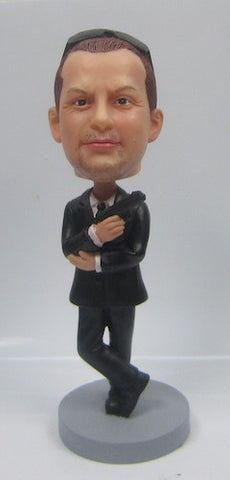 Secret Agent Bobblehead #1