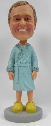 Male Bathrobe Bobblehead