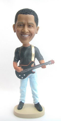 Male Guitar Player Bobblehead #2