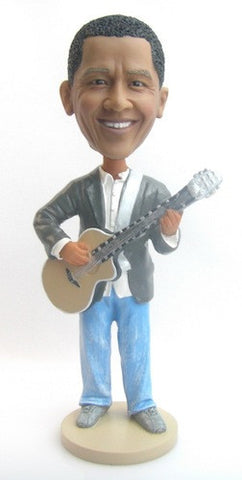 Male Guitar Player Bobblehead #3 - National Bobblehead HOF Store