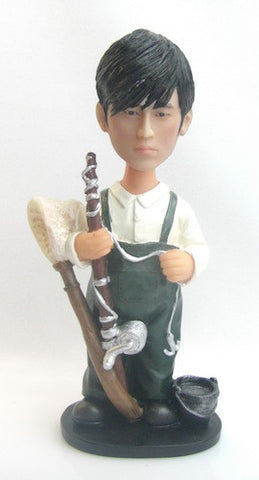 Fisherman Bobblehead #3 - National Bobblehead HOF Store
