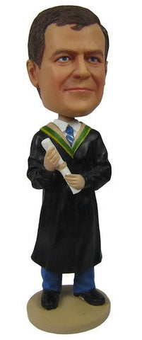 Graduation Male Bobblehead #1