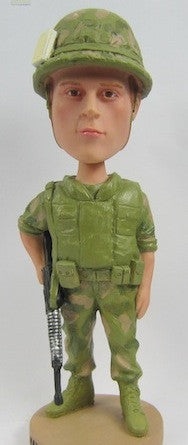 Solider Bobblehead - National Bobblehead HOF Store