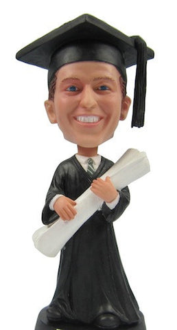 Graduation Male Bobblehead #2 - National Bobblehead HOF Store