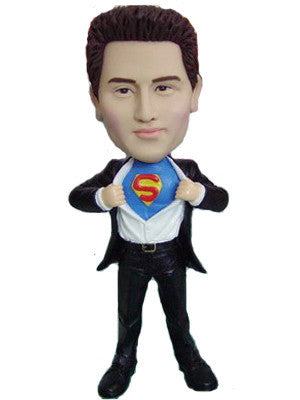 Superman Bobblehead #3 - National Bobblehead HOF Store