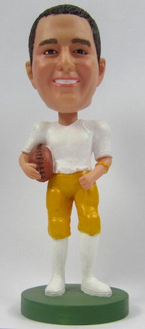 Male Football Player #3 - National Bobblehead HOF Store