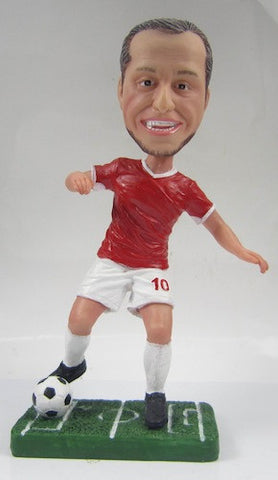Male Soccer Player #8 - National Bobblehead HOF Store