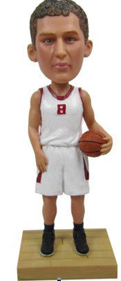 Male Basketball Player #3 - National Bobblehead HOF Store