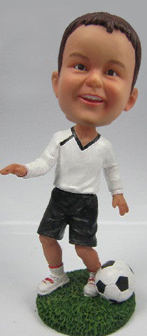 Male Soccer Player #9 - National Bobblehead HOF Store