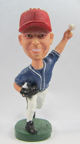 Male Baseball Player #4 - National Bobblehead HOF Store